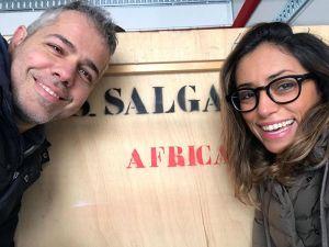 Claudio Melioli e Khadija Lamami